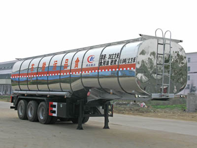 40cbm edible oil semitrailer