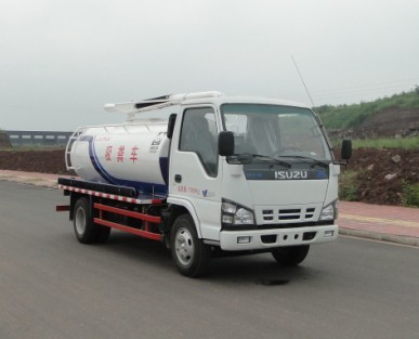 ISUZU 600P fecal suction truck