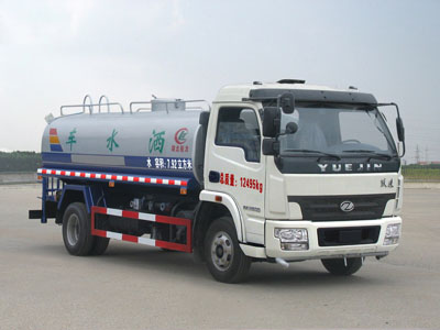 IVECO 8CBM water flushing truck