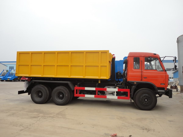 Dongfeng 16cbm hook lift garbage truck