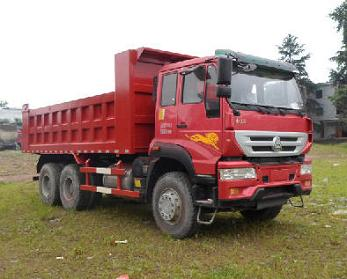 SINO TRUK Golden King 6*4 dump truck