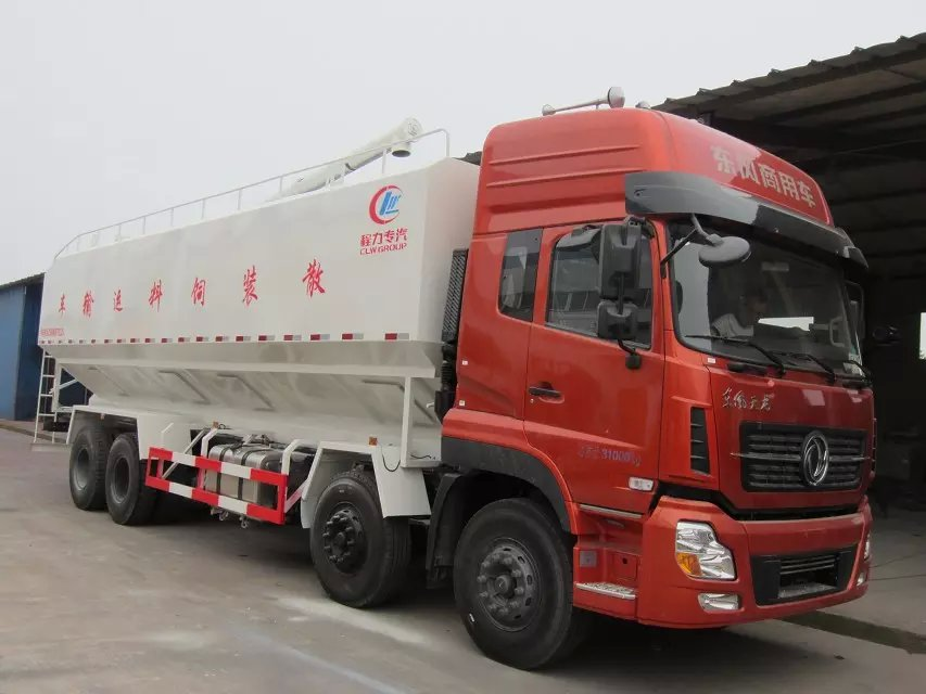 40cbm bulk feed delivery truck