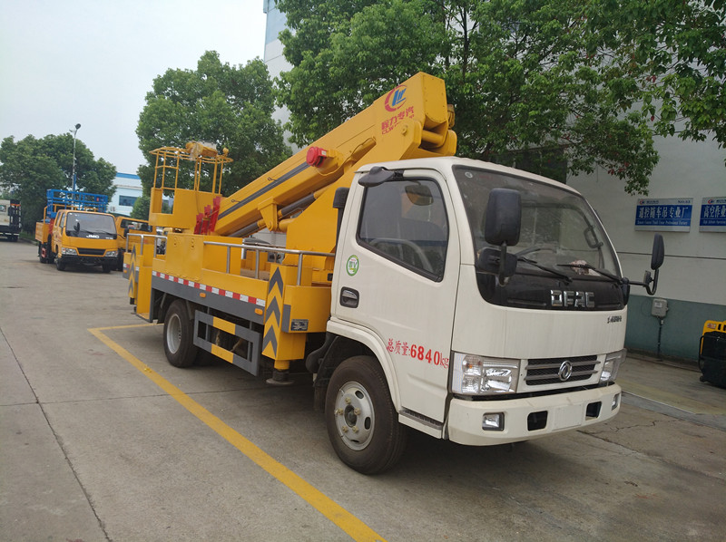 Dongfeng 16m telescopic high altitude ope