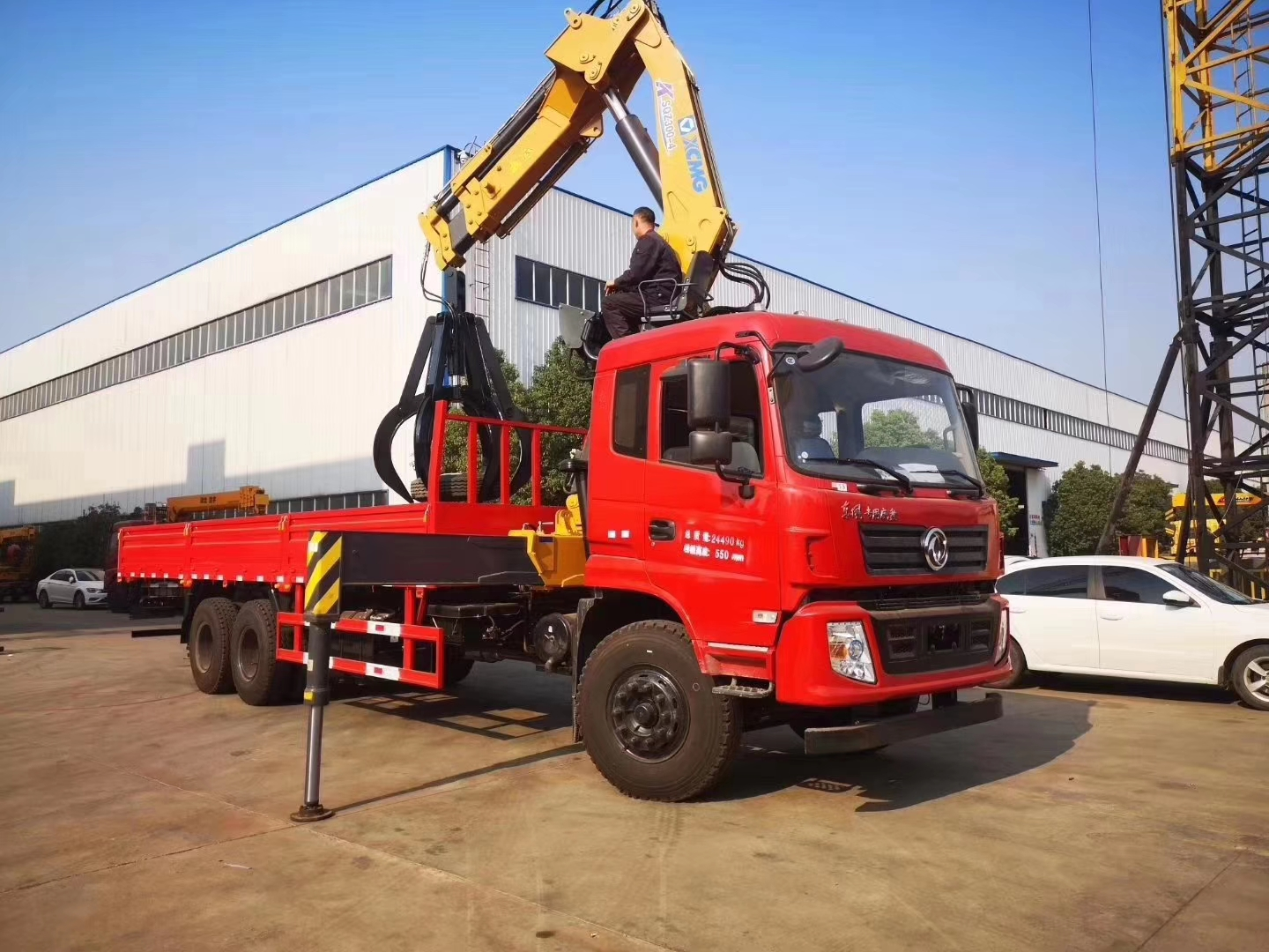 Dongfeng brand 6*4 240hp 12t-14t knuckle