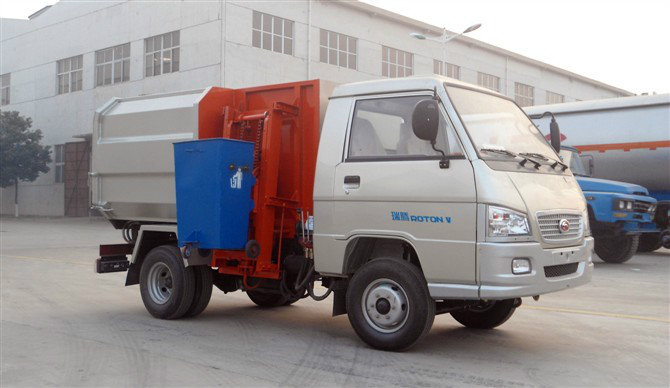 FOTON side load garbage truck