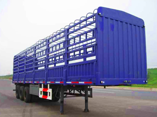3 axles fence semitrailer