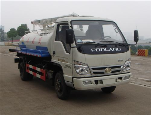 forland 5cbm fecal suction truck