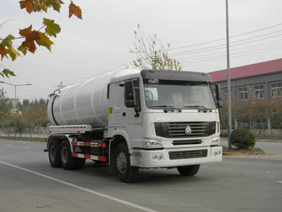 HOWO 6*4 16,000L sewage suction truck